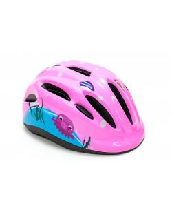 Шлем велосипедный детский FSK KS502 розовый (HEAD-030)