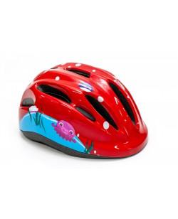 Шлем велосипедный детский FSK KS502 красний (HEAD-029)