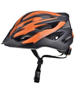 Шлем велосипедный ProX Thumb черный / оранжевый (A-KO-0122)