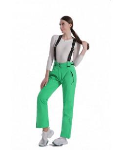 Брюки горнолыжные Just Play женские зеленый (N2155-5-green)