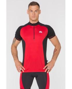 Велосипедная футболка Radical Racer SX черный / красный (A-0090-Z)