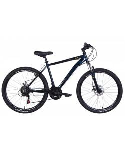"""Велосипед AL 26"""" DISCOVERY AM DD, рама 18"""" черный / синий (OPS-DIS-26-434)"""
