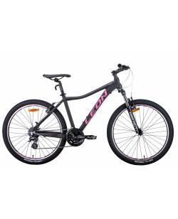 """Велосипед AL 26 """"Leon HT-LADY, Vbr, рама 15"""" графитовый / малиновый (OPS-LN-26-070)"""