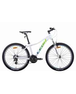 "Велосипед AL 26 ""Leon HT-LADY, Vbr, рама 17,5"" белый / салатовый (OPS-LN-26-067)"