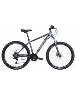 "Велосипед AL 27.5 ""Discovery BASTION, AM, DD, рама 17"" серый / черный (OPS-DIS-27.5-025)"