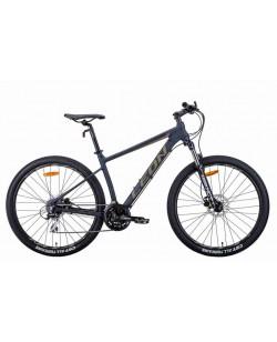 "Велосипед AL 27.5 ""Leon XC-80, DD, рама 18"" черный / хаки (OPS-LN-27.5-093)"