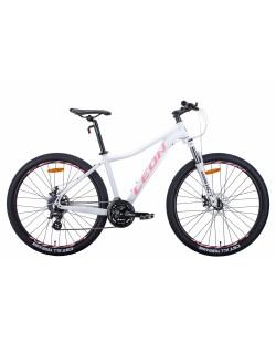 """Велосипед AL 27.5 """"Leon XC-LADY, DD, рама 16,5"""" белый / розовый (OPS-LN-27.5-084)"""