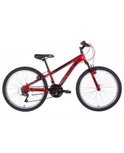 """Велосипед ST 24 """"Discovery RIDER Vbr рама 11,5"""" красный (OPS-DIS-24-263)"""