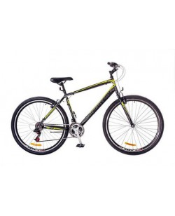 "Велосипед ST 26 ""Discovery Attack DD рама 13"" графитовый - желтый (OPS-DIS-26-406)"