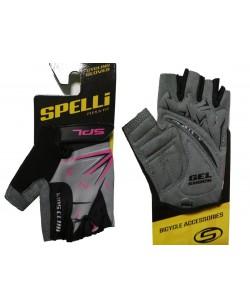 Велоперчатки детские Spelli SBG-1553 Pink (SBG-1553-Pink-4)