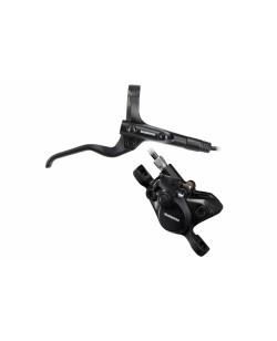 Гидравлические дисковые тормоза Shimano BL-MT201 + BR-MT200 передние и задние, черный (DISC-013)