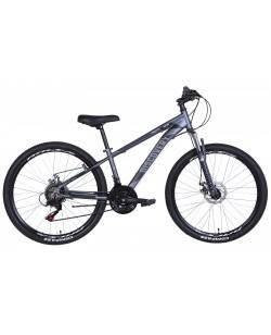 "Велосипед AL 26 ""Discovery BASTION, AM, DD, рама 18"" серый / черный (OPS-DIS-26-432)"