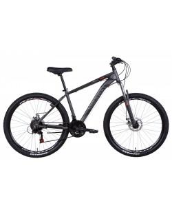 "Велосипед AL 27.5 ""Discovery BASTION, AM, DD, рама 17"" графитовый (OPS-DIS-27.5-028)"