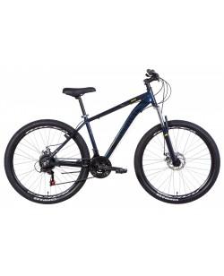 """Велосипед AL 27.5 """"Discovery BASTION, AM, DD, рама 17"""" черный / синий (OPS-DIS-27.5-027)"""