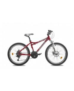"""Велосипед Ardis 24 """"LX200, рама 15.5"""" черовний / белый (01333)"""
