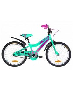 """Велосипед ST 20 """"FORMULA RACE Vbr, рама 10.5"""" бирюзовый / фиолетовый (OPS-FRK-20-147)"""