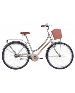 "Велосипеды 28 ""DOROZHNIK TOPAZ, V-brake, рама 19.5"" коричневый (OPS-D-28-236)"