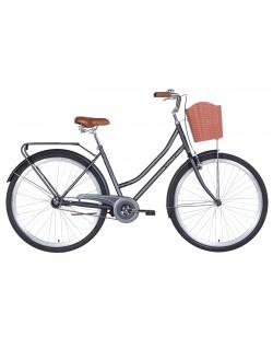 "Велосипеды 28 ""DOROZHNIK TOPAZ, V-brake, рама 19.5"" черный (OPS-D-28-235)"
