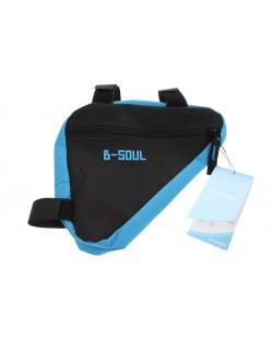 Сумка под раму угловая B-Soul BG064 черный / синий (BIB-046)