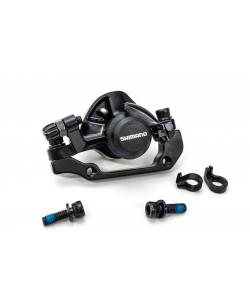 Суппорт тормозов Shimano BR-TX805, задний, 160мм, черный (DISR-011)