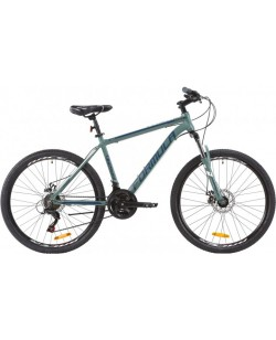 "Велосипед AL 26 ""FORMULA THOR AM 1.0 DD рама 18"" синий / белый (OPS-FR-26-346)"