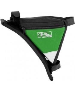 Сумка под раму угловая M-Wave зеленый (A-SP-0085)