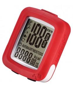 Велокомпьютер INFINI MAIA 10 функций Красный (482610)