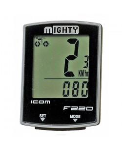 Велокомпьютер Mighty F220 22 функции Черный  (M-244218)