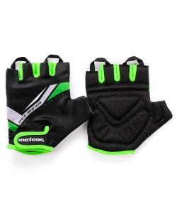 Велоперчатки Meteor TX20 Черный /зеленый (23355)