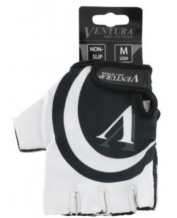 Велоперчатки Ventura черно-белый (M-719985-white)
