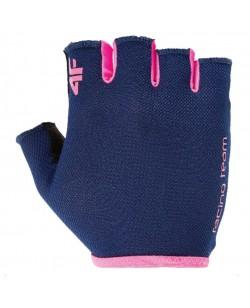 Велоперчатки женские 4F синие (H4L17-RRD001-1212)