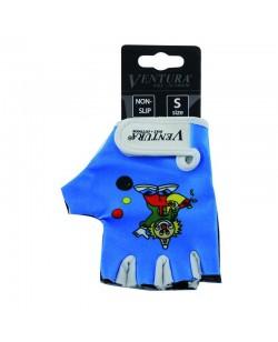 Велоперчатки детские Ventura голубые (m-719984)