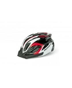 Шлем велосипедный Avanti AVH-001 черный /белый/красный (Avh-001-red)
