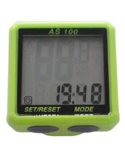Велокомпьютер Assize 8 функций, зеленый (A-L-0053)