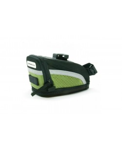 Сумка подседельная Spelli SSB-5401 черный / зеленый (SSB-5401-green)