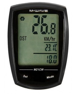 Велокомпьютер M-Wave M21CW беспроводный Черный  (A-L-0082)