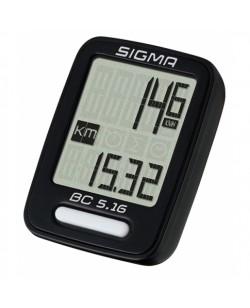 Велокомпьютер Sigma BC 5.16 проводной (LIS516)