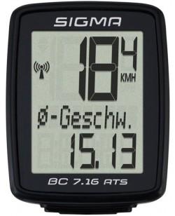 Велокомпьютер Sigma Sport BC 7.16 беспроводной (LIS717)