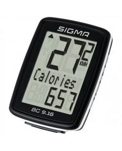 Велокомпьютер Sigma Sport BC 9.16 проводной (LIS716)