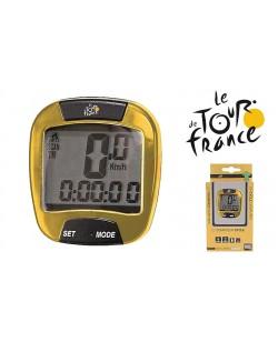 Велокомпьютер Tour De France X желтый (A-L-0035)