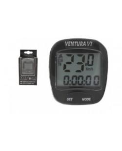 Велокомпьютер Ventura VI Черный  (A-L-0017)