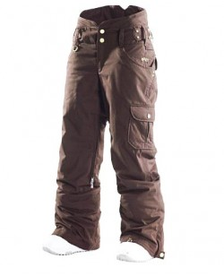 Штаны горнолыжные Roxy Limited Edition 10K/10K женские коричневый (3213465)