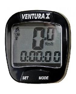 Велокомпьютер Ventura X Черный  (A-L-0004)