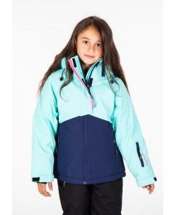 Куртка лыжная детская Just Play Aurora голубой (B4328-blue)