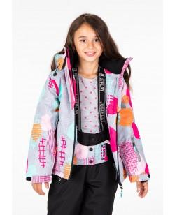 Куртка лыжная детская Just Play Fun серый (B4322-grey)