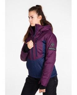 Куртка лыжная женская Just Play Bova бордовый (B2348-burgundy)