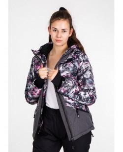 Куртка лыжная женская Just Play Lene смешанный (B2347-red)