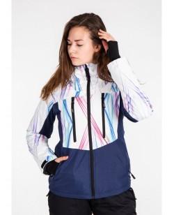 Куртка лыжная женская Just Play Liner синий (B2351-white)