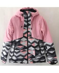 Куртка лыжная женская Just Play Bora розовый (B2342-pink)