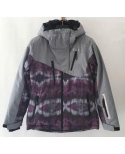 Куртка лыжная женская Just Play Noire смешанный (B2335-grey)